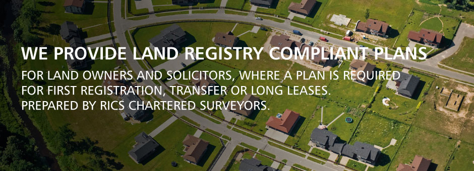 Land Registry Compliant Plans